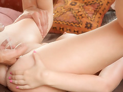Vasilisa moans in ecstasy to the fullest extent a finally she gets fucked wits a fat cock